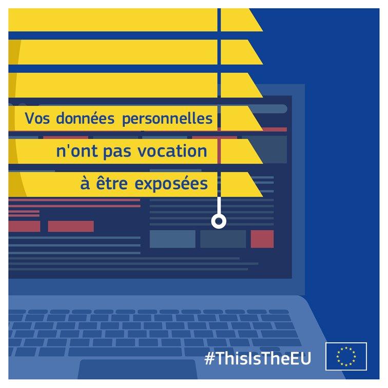 L'UE et le Marché unique du numérique - Le RGPD