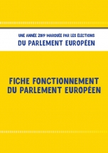 fonctionnement du parlement europeen