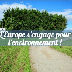 L'europe s'engage pour l'environnement