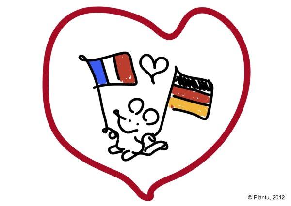 """Résultat de recherche d'images pour """"dessin plantu amitié franco-allemande"""""""