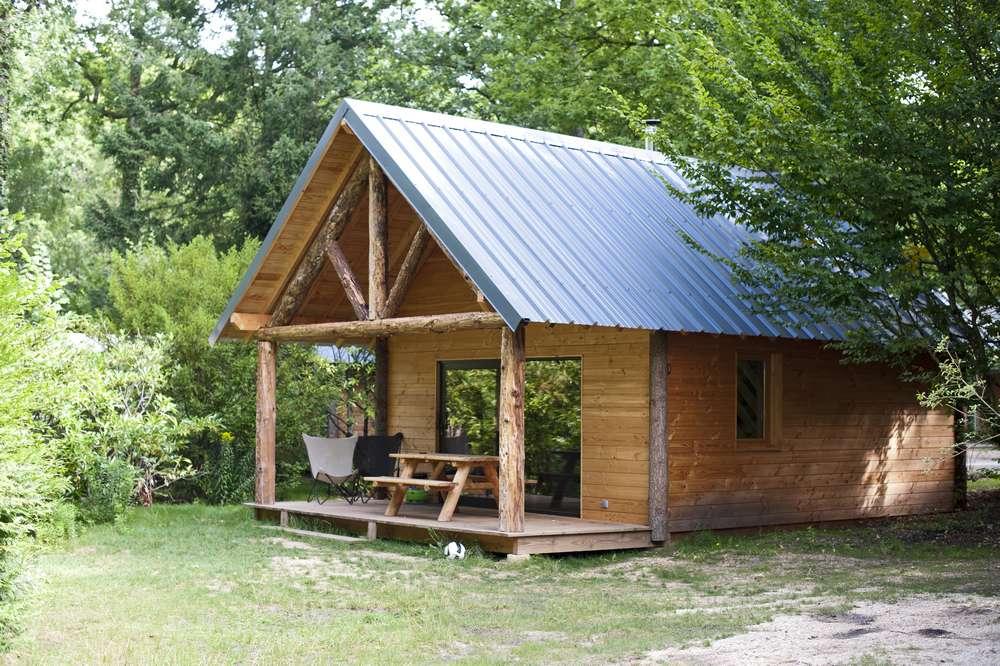 Cabane En Camping Huttopia