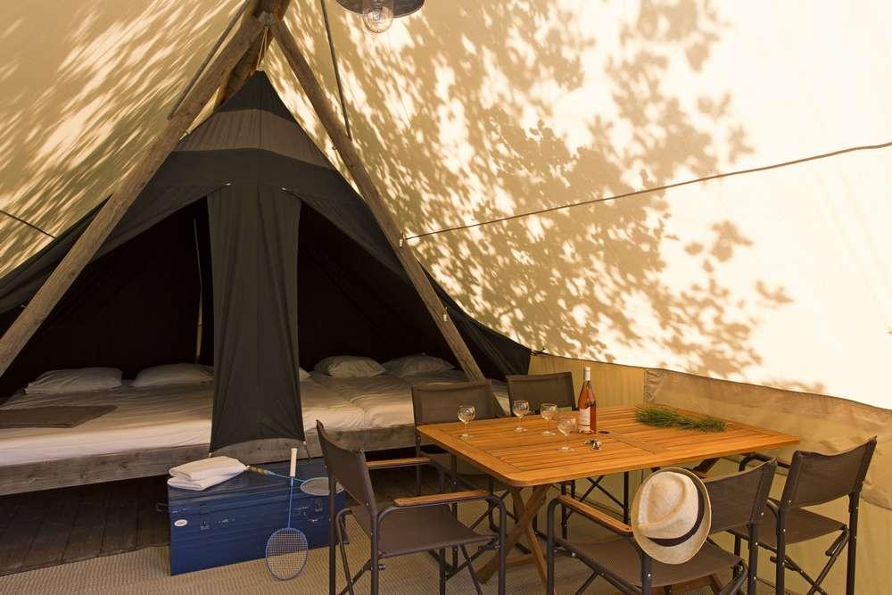Tente Canadienne Huttopia