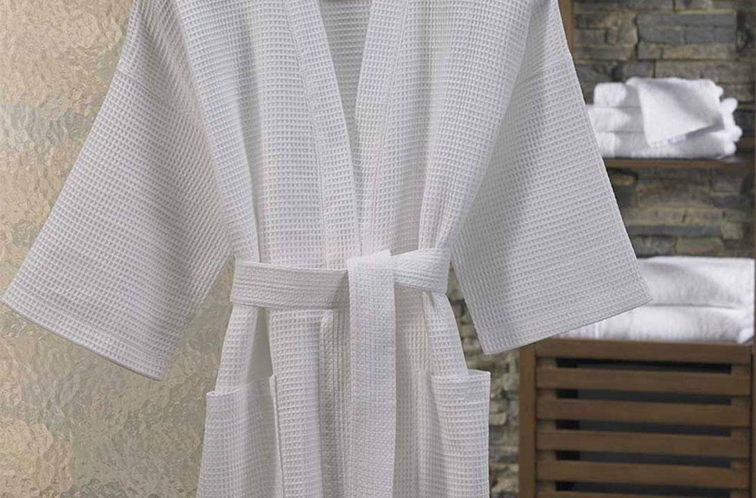 Peignoir Kimono En Nid Dabeille Boutique En Ligne Marriott