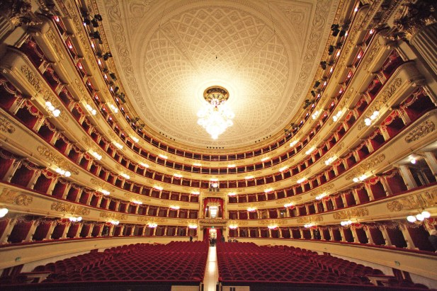 Teatro alla scala music of the night