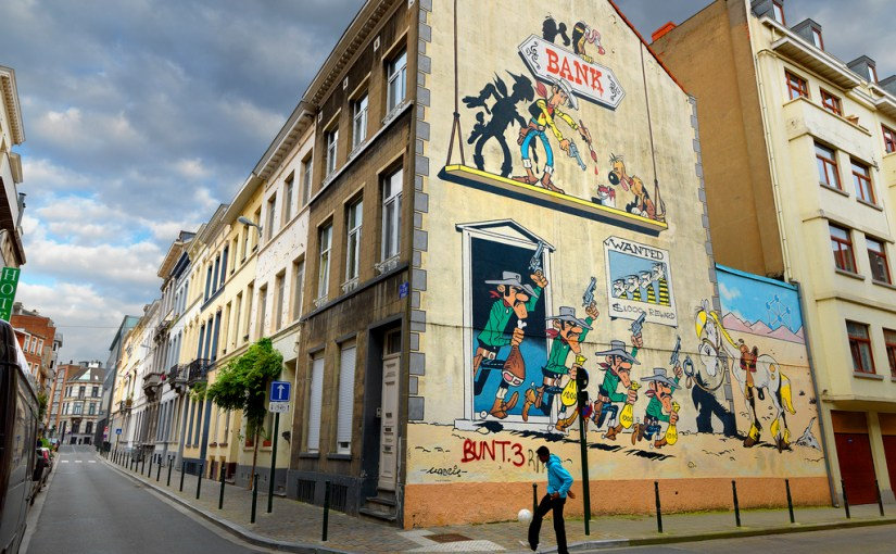 Brussels: Decorating Buildings With Our Favourite Comics