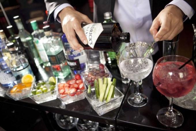 Barcelona gin tonic