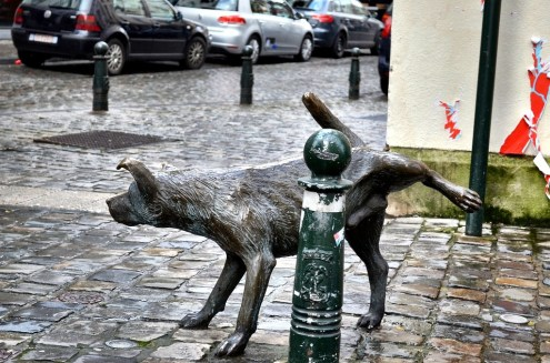 Brussels fact there are more peeing statues in the capital of Belgium