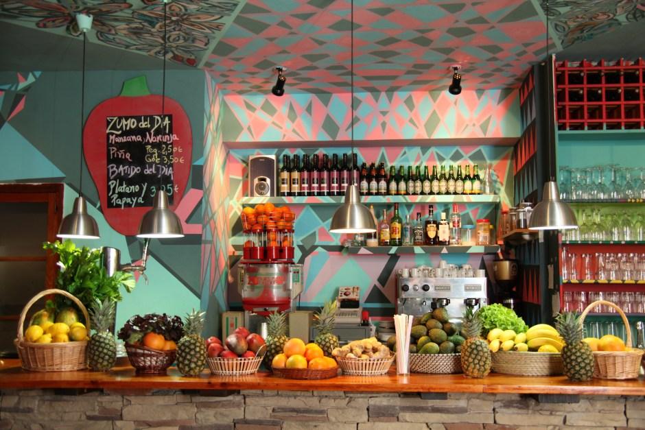 asian fusion vegan food in Barcelona
