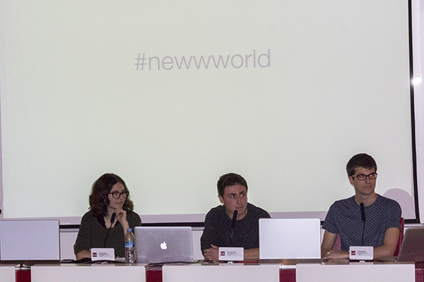 Julen Hernandez, Ana Cerezuela, Joaquín Reixa
