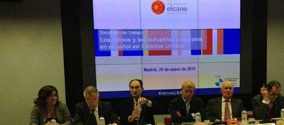 """""""Los latinos y las industrias culturales en español en Estados Unidos"""""""