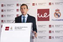 Emilio Butragueño en la inauguración