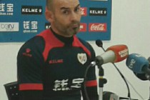 Paco Jémez en rueda de prensa. Foto: White Sport Media.