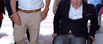 Albert Rivera durante su encuentro en Valladolid / EFE