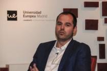 Ignacio Aguado en el debate polítiico de la Universidad Europea de Madrid