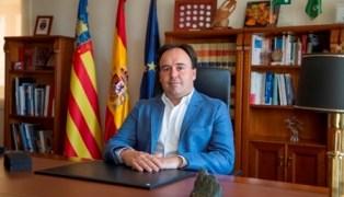 Juan Francisco Pérez, alcalde de Finestrat.