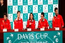Equipo español Copa Davis / Foto: Antonio Bat. EFE.