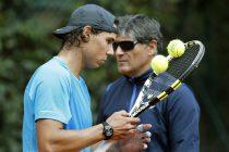 Rafael Nadal junto a su tío y entrenador Toni Nadal. EFE/ARCHIVO/Andreu Dalmau