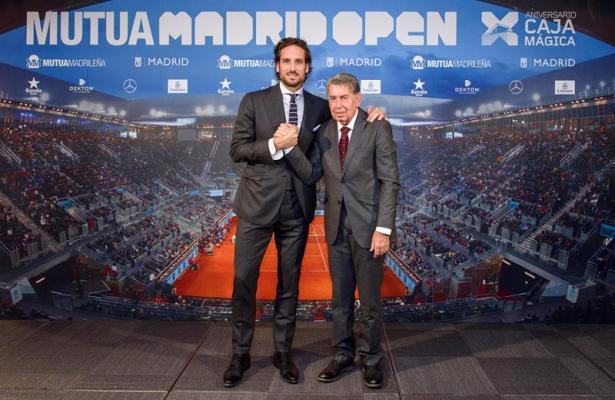 Feliciano López y Manolo Santana (EFE)