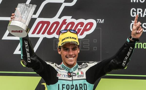 El español ha ganado en 2017 el campeonato mundial de Moto 3.