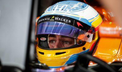 El piloto español Fernando Alonso, de la escudería McLaren, en la tercera práctica libre en el autódromo de Interlagos ciudad de Sao Paulo (Brasil) del pasaso mes de noviembre. Fuente: EFE/Fernando Bizerra Jr