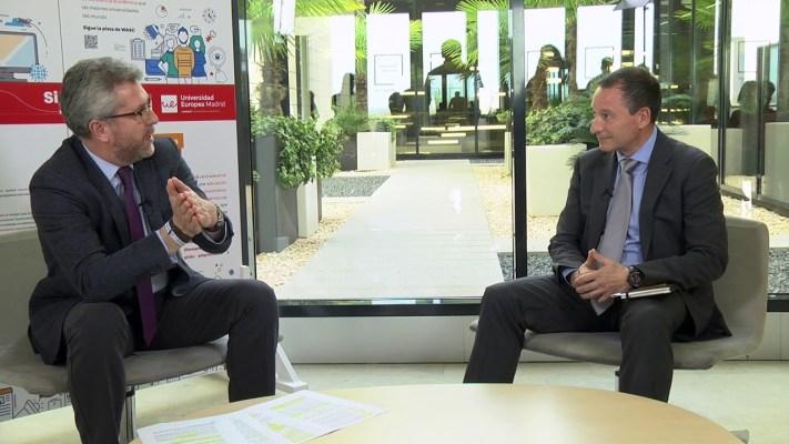 Juan Morote en los WASC Days de la Universidad Europea