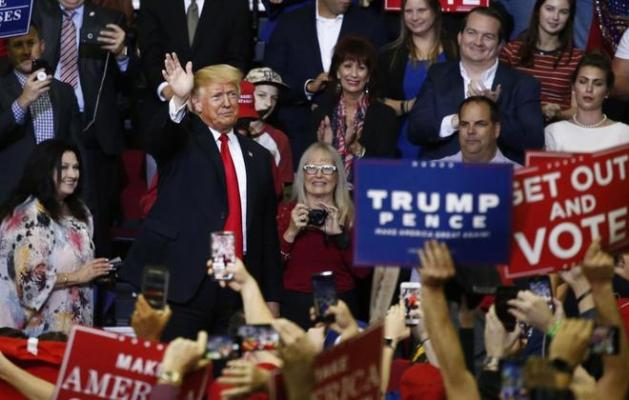 Los comicios del próximo 6 de noviembre son consideradas un referéndum sobre las políticas de Donald Trump LARRY W. SMITH / EFE