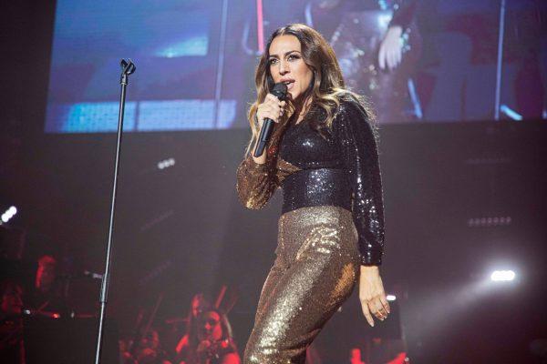Monica Naranjo en concierto en el WiZink en su gira Renaissance. Hodei Ontoria