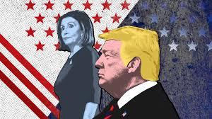 Donald Trump y Nanci Pelosi.