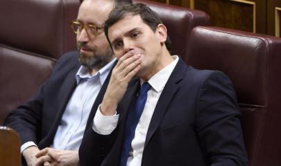 Albert Rivera y Juan Carlos Girauta / Agencia EFE