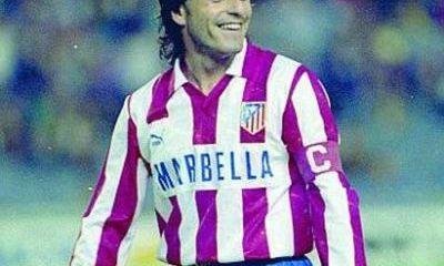 Paulo futre en el Atlético de Madrid.