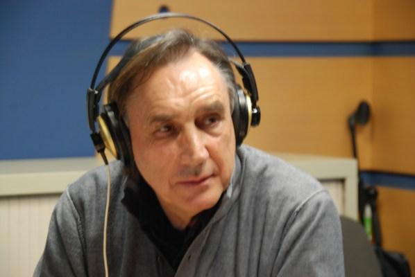 Miguel Ángel Portugal durante el programa. Foto: Miguel Ángel Vázquez.