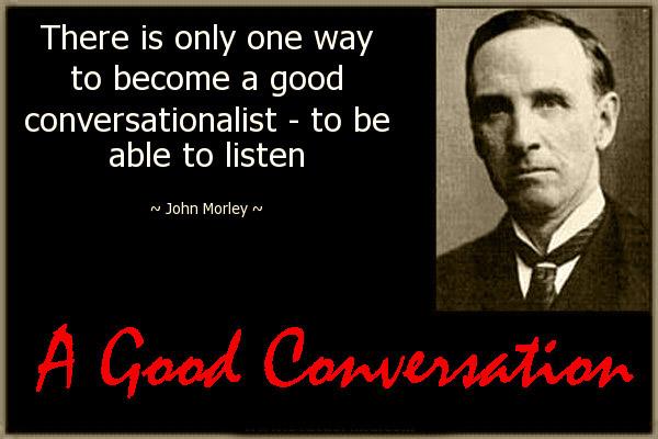 A Good Conversation