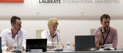 Javer Alberdi, Anne Igartiburu y Luis Calandre