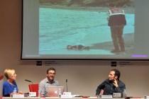 Alberto Di Lolli durante su intervención