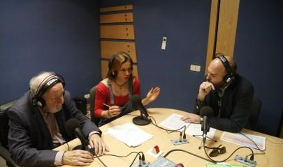 Diego Carcedo y Víctor López en estudios Europea Radio