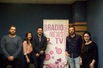 Jorge Bustos y Fernando Peinadoen Europea Radio