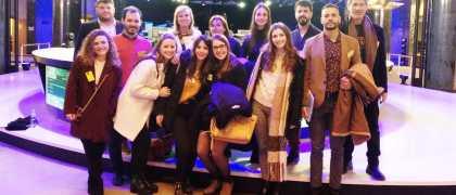 Alumnis de ARU en el Parlamento Europeo