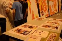 Mural del taller de expresión gráfica