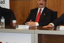 Juan Díez Nicolás en la Inauguración de la Cátedra de Ciencias Sociales y Seguridad