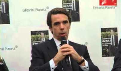 Video thumbnail for youtube video Presentación segunda parte de las memorías de José María Aznar