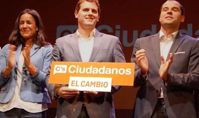 ciudadanos acto central de campaña