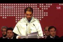 Video thumbnail for youtube video Rafael Nadal investido Doctor Honoris Causa por la UEM