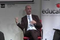 """Adrian Kearney habla sobre las oportunidades del Bachillerato Internacional en el Foro """"Education. Educar para Transformar"""""""