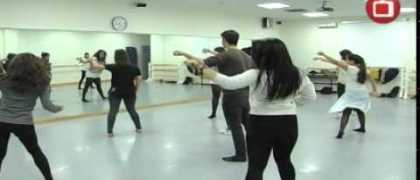 Muestra de Navidad 2014 del Taller de Danza de la UEM