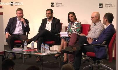 Debate a 4 en la Universidad Europea de Madrid #DebatePoliticoUE