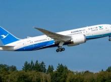 Xiamen Airlines Boeing 787-8