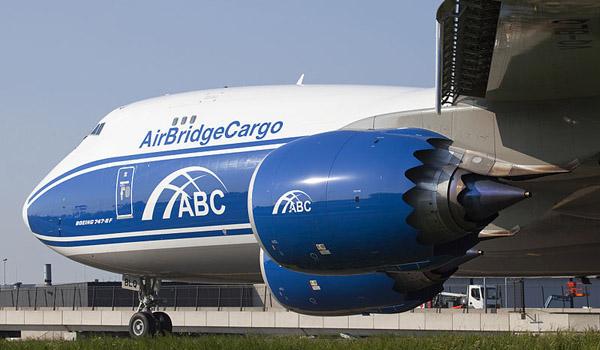 AirBridgeCargo Airlines Boeing 747-8F
