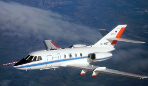 DLR research aircraft Falcon 20