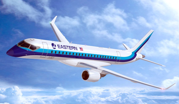 Eastern Air Lines Mitsubishi MRJ90