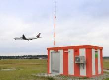 GBAS station at Frankfurt Airport